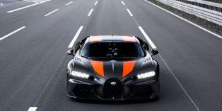 Este Bugatti Chiron bate un increíble record de velocidad al superar los 490 km/h
