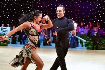 Un español y una rusa compiten en Moscú para ganar la prestigiosa Copa Mundial de Bailes Latinos