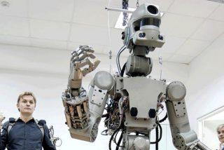 """El robot humanoide FEDOR """"vuelve a casa"""" tras su estancia en la Estación Espacial Internacional"""