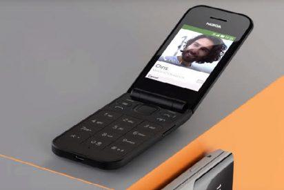 """Nokia resucita de entre los muertos su vetusto teléfono de """"tapita"""""""