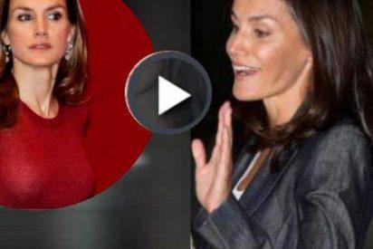 La Reina y el vídeo perdido de Letizia periodista que opina de política y va rumbo a México