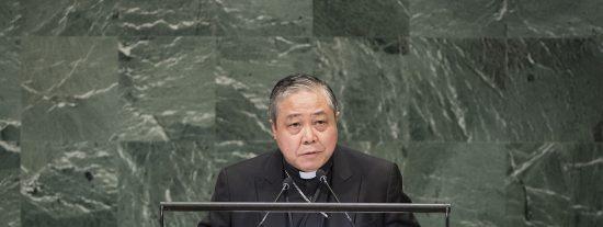 Bernardito Auza pide la creación de un Estado palestino en su despedida de la ONU