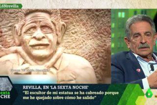 """El Quilombo / Revilla, cabreado como una mona con el escultor que le hizo un 'Ecce homo': """"No me ha puesto ni cuello"""""""
