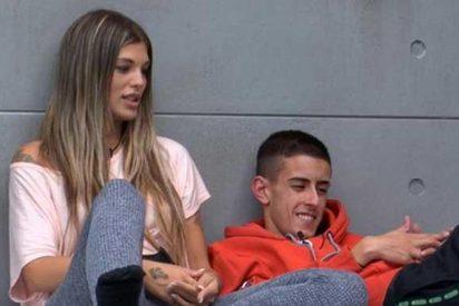 Nuria MH y 'El Cejas' en 'GH VIP 7'