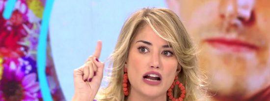 Alba Carrillo reconfirma lo que María Patiño ya 'había dicho' hace más de un mes