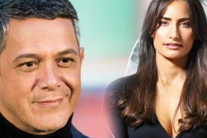 """El parachoques de la nueva novia de Alejandro Sanz con un nanobikini: """"A que no me dejas"""""""