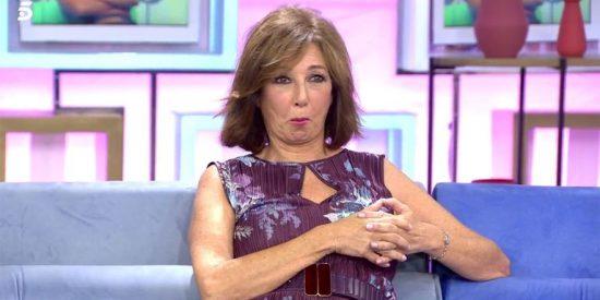 ¿Qué mira Ana Rosa Quintana con esa cara?... ¡El 'pecho lobo' del conde Lecquio!