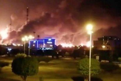 Arabia Saudita baja a la mitad la producción de crudo y gas tras ataques con drones contra sus instalaciones petroleras