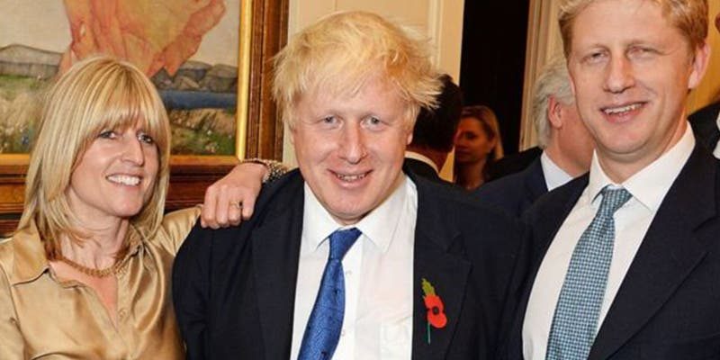 Así es la extravagante familia de Boris Johnson, una dinastía política dividida por la relación de Reino Unido y Europa