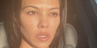 Así es la rutina de belleza de Kourtney Kardashian con la que podrás ir siempre sin maquillaje