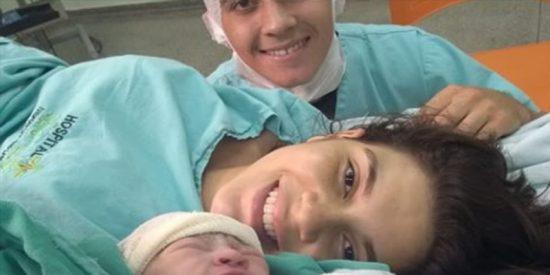 Así fue el desgarrador mensaje de un joven a su pareja que murió minutos después de dar a luz