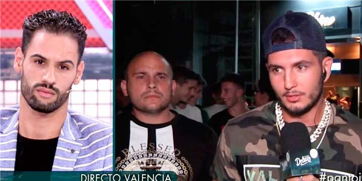 Brutal enfrentamiento entre Omar Montes y Asraf en 'Sábado Deluxe'