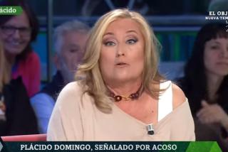 """Elisa Beni convierte 'laSexta Noche' en un inquisitorial 'Me too' contra Plácido Domingo con barra libre de insultos: """"Baboso, depredador..."""""""
