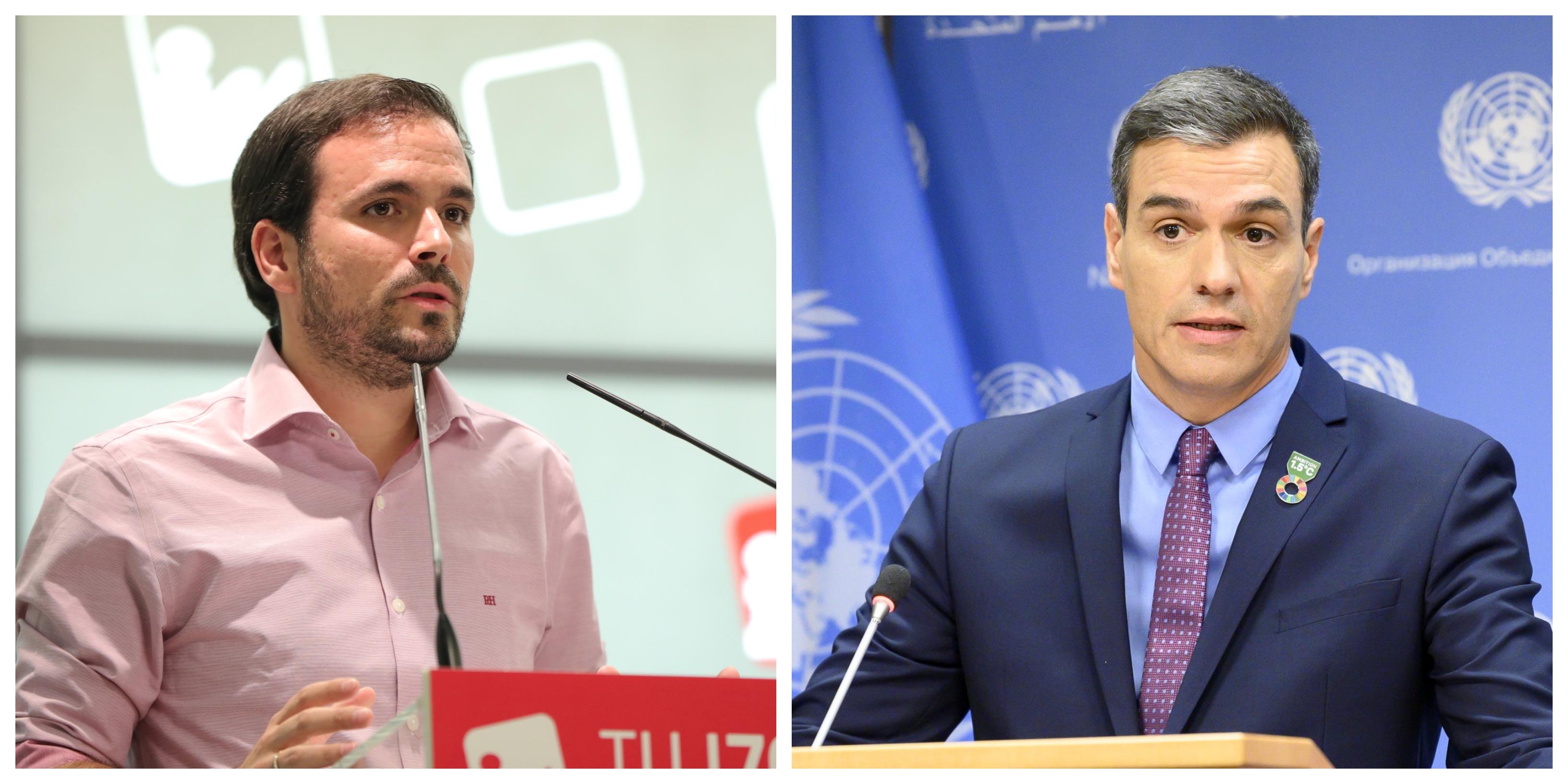 ¡Cómo duelen las verdades! Alberto Garzón patalea por un comentario de Pedro Sánchez