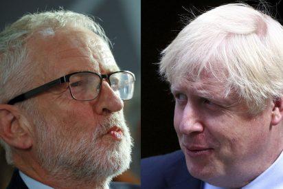 "El 'torie' Boris Johnson al 'laborista' Jeremy Corbyn: ""Nenaza"", ""gallina colorada"""