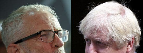 "El 'torie' Boris Johnson al 'laborista' Jeremy Corbyn: ""Nenaza"", ""gallina colorada"""