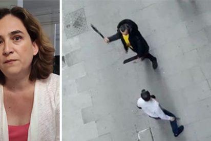 Ada Colau en el FB y una pelea con machetes en Barcelona.