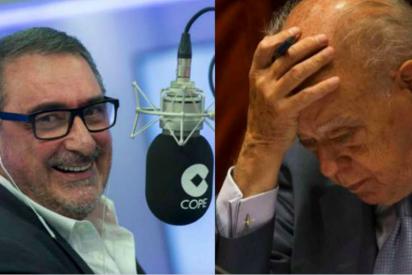 """Calos Herrera revienta a los golpistas aireando el deseo de Jordi Pujol: """"a mí que no me entierren con la estelada"""""""