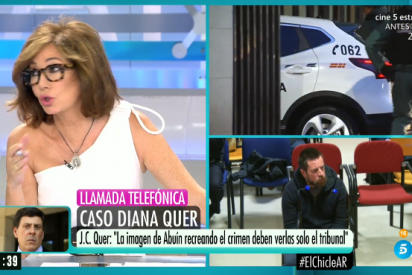 Rifirrafe en vivo entre Ana Rosa Quintana y Juan Carlos Quer que deriva en brutal confesión y palo a Sánchez e Iglesias