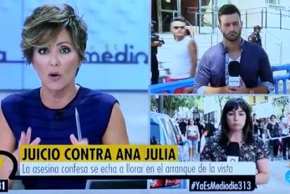 El reportero de Telecinco que hace alucinar a Ónega con su comentario racista sobre Ana Julia Quezada