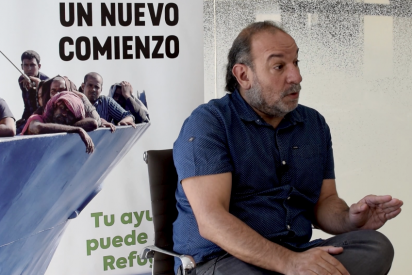 """El portavoz de la Comisión de Ayuda al Refugiado niega que exista una llegada masiva de inmigrantes: """"Criminalizarlos es populista"""""""