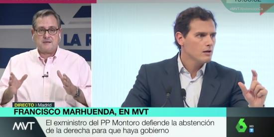 """La propuesta de Rivera a Sánchez pone enfermo a Marhuenda: """"Frívolo, impresentable… ¡Los españoles no son tontos!"""""""