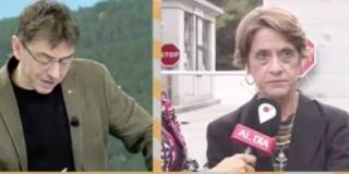 La mujer más franquista de España enseña el camino sobre cómo hay que tratar al pelma de Monedero