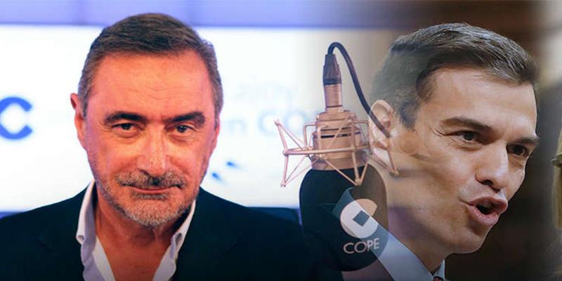 El mensaje de Carlos Herrera a Pedro Sánchez, un 'mentiroso patológico', tras la respuesta del socialista a la oferta de Albert Rivera