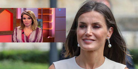 """Carme Chaparro corta por lo sano en la polémica de la Reina Letizia y el escolta: """"¿Qué bronca ni qué bronca?"""""""