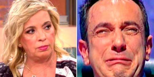 """Carmen Borrego destroza a Víctor Sandoval desde 'Viva la vida': """"Para muerto tú..."""""""
