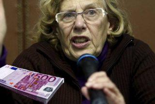 Apenas perder la alcaldía de Madrid y antes de irse, la 'abuelita' Carmena asignó a dedo 330.000 € de dinero público para la 'Facultad de Podemos'