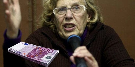 La 'abuelita' Carmena asignó a dedo 330.000 € de dinero público para la 'Facultad de Podemos' antes de irse
