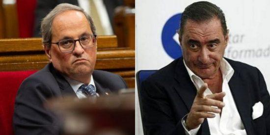 La contundente advertencia de Herrera sobre el penoso show vivido en el Parlamento catalán: