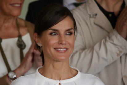 La reina Letizia 'se aprieta el cinturón' en su viaje a Cáceres y acaba arrasando en redes sociales