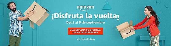Disfruta la vuelta Amazon Ofertas