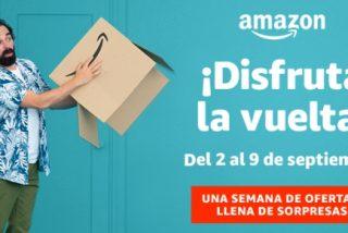 Mejores Ofertas Semana, 'Disfruta la vuelta' en Amazon,