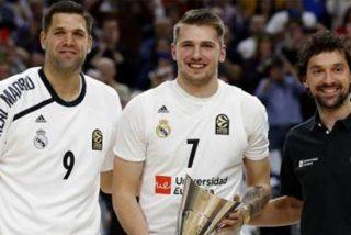 Doncic más feliz que una perdiz tras el triunfo de España contra Australia en semifinales del Mundial