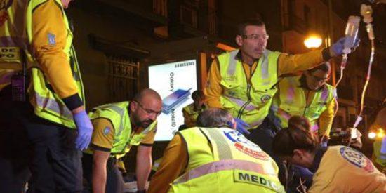 Dos jóvenes heridos graves tras ser apuñalados en una reyerta en Madrid