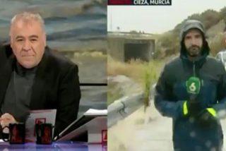 El 112 de Murcia deja en ridículo a 'Al Rojo Vivo' por lo que ha hecho un reportero en pleno directo
