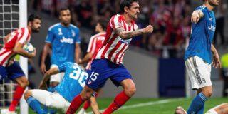 El Atlético remonta con coraje un 0-2 para llevarse un empate ante la Juventus