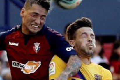 El Barça pincha ante un combativo Osasuna