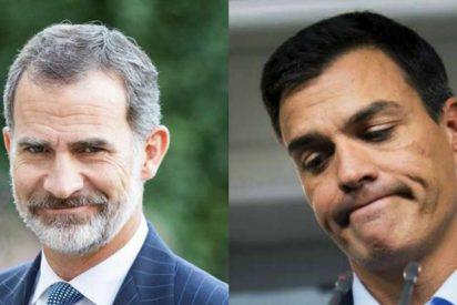 El soberano desprecio de Pedro Sánchez a los Reyes de España: los planta en un almuerzo para irse a dar un mitin en Valencia