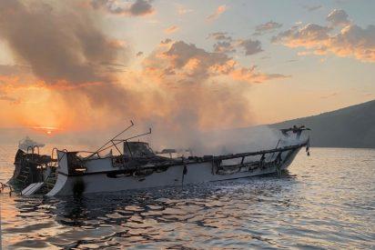 Al menos ocho buceadores muertos y 26 desaparecidos dentro de un barco de recreo convertido en un infierno de fuego