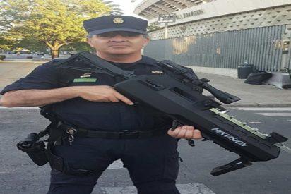 Arma Letal: el monstruoso rifle antidrones de la Policía Nacional