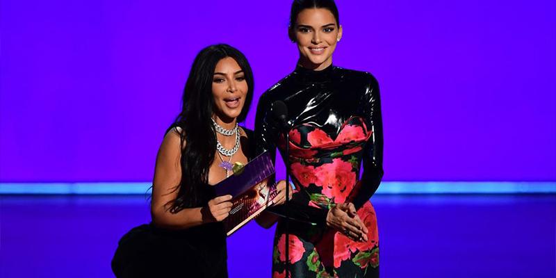 El super truco con el que Kim Kardashian resaltó su trasero en la gala de los Emmys