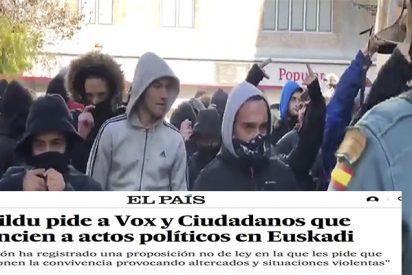 Bildu quiere echar a Vox, Cs y PP de una parte de España y así lo blanquea 'El País'