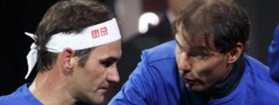 """El viral chivatazo estadístico de Nadal a Federer: """"Rafa me salvó"""""""