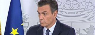 """Esta es la cara que se le queda a Pedro Sánchez cuando """"no entiende"""" una pregunta"""