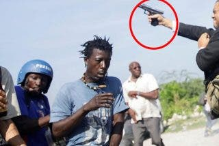 """Este senador se lía a tiros en Haití: """"Se puso nervioso y disparó para todos lados"""""""