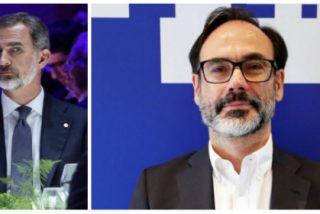 Felipe VI deja con el trasero al aire a la agencia EFE de Fernando Garea por una real columpiada sobre las intenciones del monarca